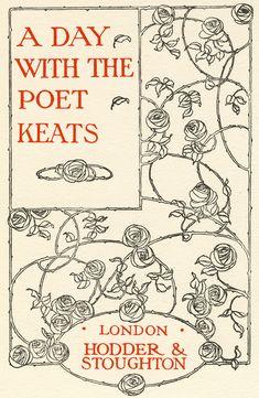 gilliflower: a day with the poet keats (via elfgoblin)