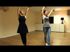 Charleston Step with Arms & Turns - YouTube