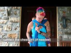 Tutorial: Secure High Back Carry (SHBC) with a pre tied chestbelt - Wrap you in love