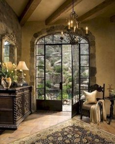 Home Decor Living Room French Country Home.Home Decor Living Room French Country Home French Country Living Room, French Country Cottage, French Country Style, Spanish Style, Spanish Colonial, Country Chic, Tuscan Living Rooms, Kitchen Country, Kitchen Rustic