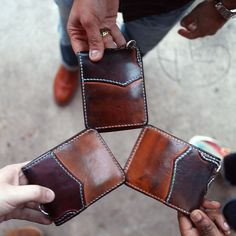 WC Leather & Cordovan Wallet - Tan