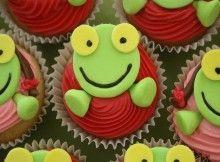 Más información Cupcakes, Cupcake Cookies, Sugar, Party, Desserts, Frogs, Toad, Skinny Pancakes, Birthday Cakes