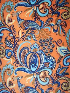 vintage persian garden upholstery fabric