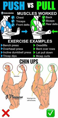 Mesmerizing Every Man Needs To Know To Stay Healthy Ideas. Phenomenal Every Man Needs To Know To Stay Healthy Ideas. Mens Fitness, Fitness Tips, Fitness Motivation, Chest Workouts, Gym Workouts, Workout Tips, Push Pull Workout, Biceps And Triceps, Weight Training Workouts