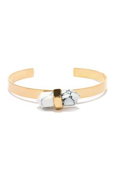 Rock to the Beat White Crystal Bracelet