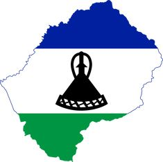 Flag map of Lesotho African Countries Map, How Many Countries, African States, Africa Quiz, Africa Map, South Africa, Flags Of The World, We Are The World, Lesotho Flag