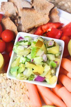 Kiwi and Cucumber Salsa   C it Nutritionally