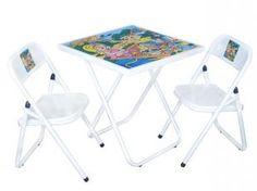 Mesinha Sapeca Com 02 Cadeiras - Metalmix (182185100)   De R$ 129,00 Por R$ 99,90   em até 4x de R$ 24,98 sem juros no cartão de crédito