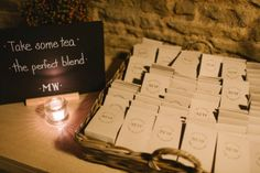Loose Tea Wedding Favours: Photography by Debs Ivelja, Wedding Planning by Jessie Thomson Weddings and Events