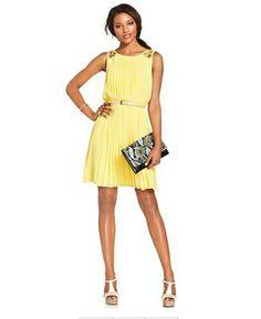 Fashion Babes: Yellow Lemon mini sweet dress   #dress #yellowdress #minidress #fashion