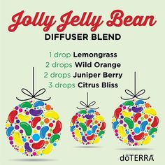 On the first day of Christmas my true love gave to me, an infusion of jolly jelly beans!