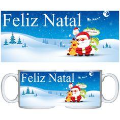 Estampa para caneca Comemorativa Natal 000703 - Customize Transfer