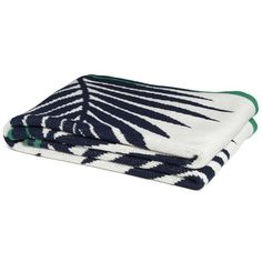 Eco Tropical Palm Throw in Two Different Colors