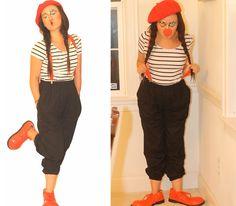 French Clown Costume Set. via Etsy, Hudiefly2.