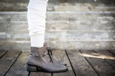 Leather Boots Grey Boots Handmade Boots Ankle Boots Grey