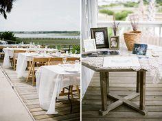 Destination Wedding Photographer - Island Beach Wedding - beach house reception - Jenna Henderson, Photographer