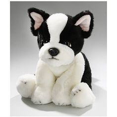 Stuffed Animal French Bulldog, 9.5 inches, 24cm, Plush Toy, Soft Toy -- Check out this great product. (This is an affiliate link) #StuffedAnimalsPlushToys