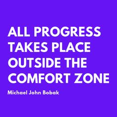 Get outside your comfort zone! Motivational Lines, Inspirational Quotes, We Can Do It, Office Organization, Comfort Zone, Declutter, The Outsiders, Feelings, Quotes
