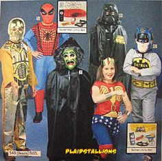 1978 Halloween Costumes
