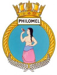I'm doing some research for something I'm writing and I found this interesting/disturbing thing. The rape of Philomel is not mentioned at all, and Philomel is thought of as aboriginal. Badge of HMNZS Philomel History Online, Crests, Royal Navy, Military Art, Armed Forces, First World, World War, New Zealand, Disney Characters