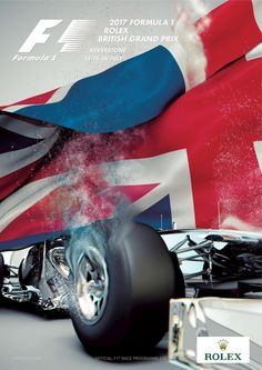 Official race programme cover for British Grand Prix - 2017