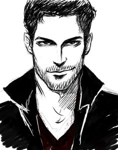 Lucifer sketch fan art