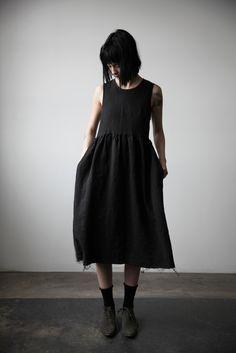 Irina Linen Dress - Black                                                                                                                                                                                 More