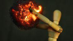 Stunning Macro Footage of Steel Wool Burning