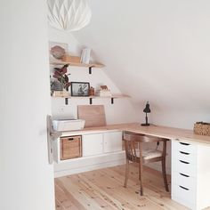 Home Office Layouts, Home Office Setup, Home Office Space, Home Office Design, Ikea Bedroom, Room Ideas Bedroom, Bedroom Decor, Study Table Designs, Baby Room Colors