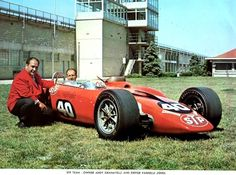 the Turbine powered #40 STP, Andy Granatelli special. - Parnelli Jones 1967 Indy 500