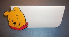 Winnie The Pooh Pooh Bear Place Cards Treat bag by jscrewey, $4.99