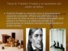 11 Mejores Imágenes De Friedrich Froebel Educacion