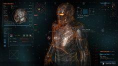 Design das interfaces gráficas de 'Vingadores: Era de Ultron'