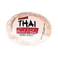 Thai Deodorant Stone Thai Crystal Deodorant Soap in Basket 1 Bar