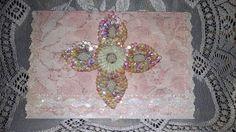 Greeting Card Shabby Chic Victorian Lace Wedding by TreasuresOfJen