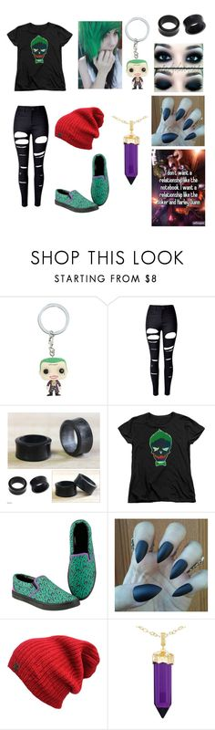 """""""The Joker~"""" by xxxthe-band-obsessed-nerdxxx ❤ liked on Polyvore featuring Hot Topic, WithChic, NOVICA and Simone I. Smith"""