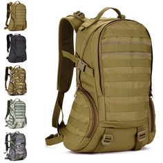 Trekking Tactical men 35L camouflage travelling sport army duffel bags Camping bags High Quality Backpack outdoor Military