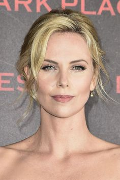 Charlize Theron attends the 'Dark Places' Paris Premiere at Cinema Gaumont Capucine on March 31, 2015 in Paris, France.