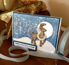 Moonlight Reindeer...   Rambling Rose Studio   Billie Moan
