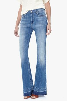 The 6 Best Brands For Petite Flare Jeans