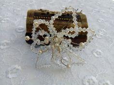 Bridal Pearl Hair Pins Wedding Accessories Bride Hair Comp Tiara Headband Crown