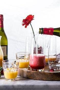 The Perfect Bellini Bar | halfbakedharvest.com @hbharvest