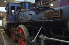 Historic Texas Locomotive from the Great Train Robbery of the civil war!!!!