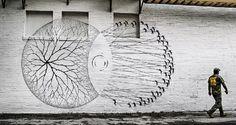 GIF: Tránsito, in Winter Haven Street Art | bohemianizm