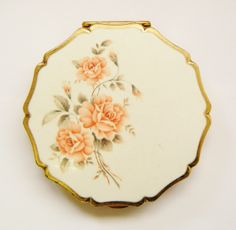 Pink Flowers Stratton Compact