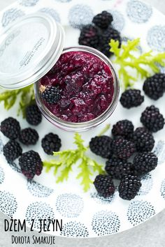 dzem_z_jezyn Jam And Jelly, Blackberry, Fruit, Recipes, The Fruit, Food Recipes, Blackberries, Rezepte, Recipe