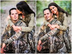 camouflage engagement pictures - i wanna do this pokey Hunting Engagement Pictures, Country Engagement, Engagement Couple, Engagement Ideas, Engagement Shots, Couple Photography, Engagement Photography, Wedding Photography, Hunting Photography