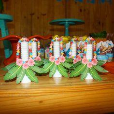 Tubete lindos para uma festa Moana muito animada! #festamoana #moanaparty #tubetemoana #hawaii Decoração @da_festa