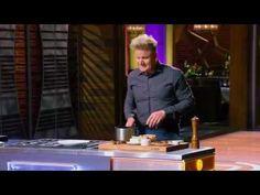 Gordon Ramsay's perfect scrambled eggs shown on Masterchef
