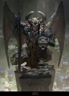 Legend of the Cryptids ~ (Ban) Orcus, Necrodemon